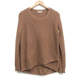 Madewell Brown Long Sleeve Sweater - Size M